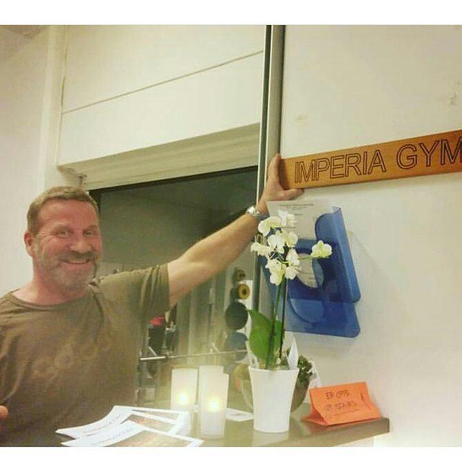 Geir Borgan Paulsen ønsker velkommen til Imperia Gym